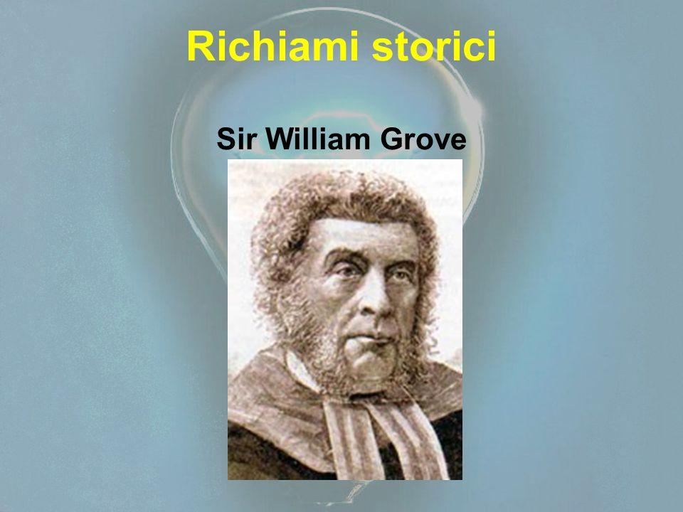 Richiami storici Sir William Grove