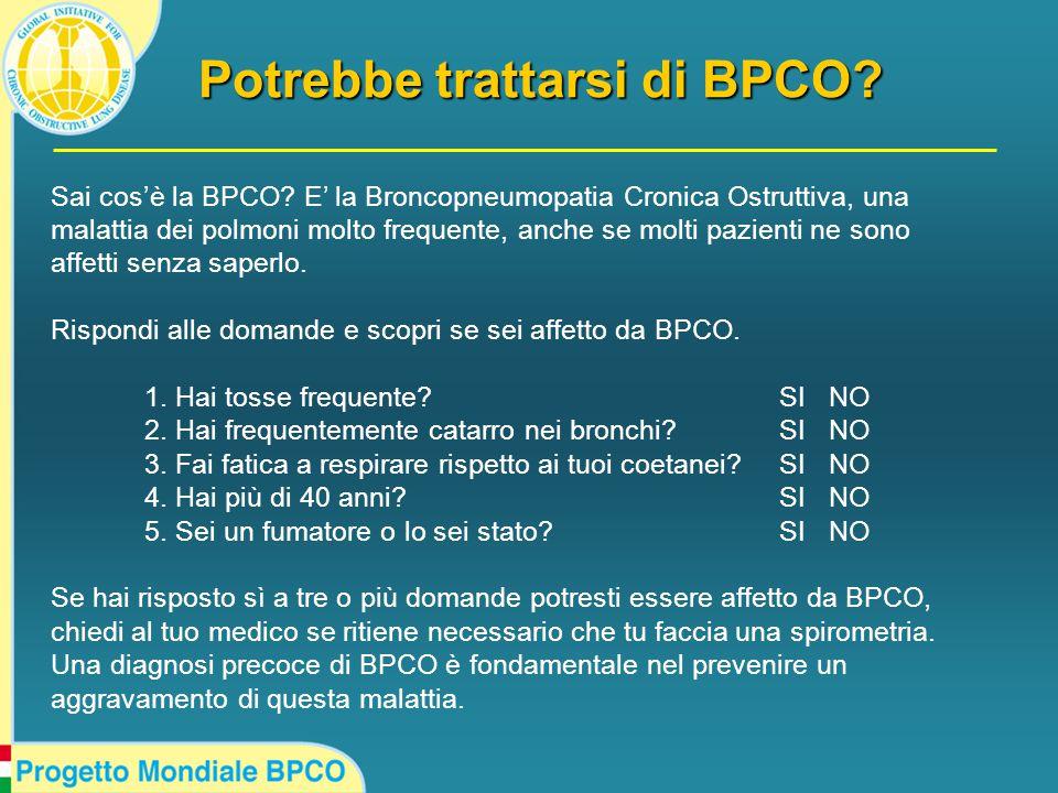 Sai cos'è la BPCO.