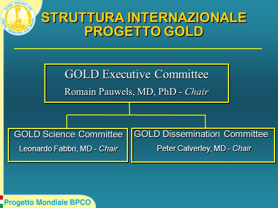 GOLD NETWORK PARTNERS  GOLD NATIONAL LEADERS  WORLD ORGANIZATION OF FAMILY PHYSICIANS (WONCA)  INTERNATIONAL COPD COALITION (Patient Organizations)  GOLD NATIONAL LEADERS  WORLD ORGANIZATION OF FAMILY PHYSICIANS (WONCA)  INTERNATIONAL COPD COALITION (Patient Organizations)
