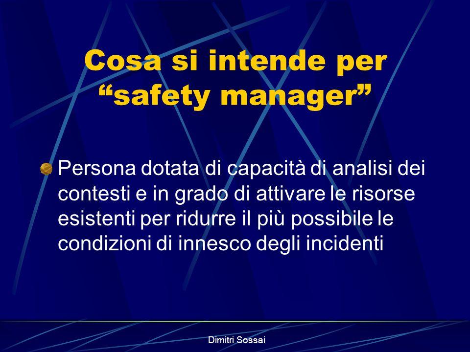 Dimitri Sossai Chi si occupa di risk management .