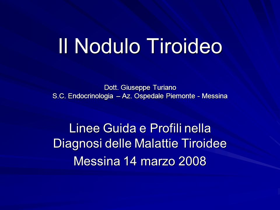 Linee guida nodulo tiroideo Medical Guidelines for Clinical Practice for the Diagnosis and Management of Thyroid Nodules – American Association of Clinical Endocrinologists and Associazione Medici Endocrinologi – Endocrin Pract.