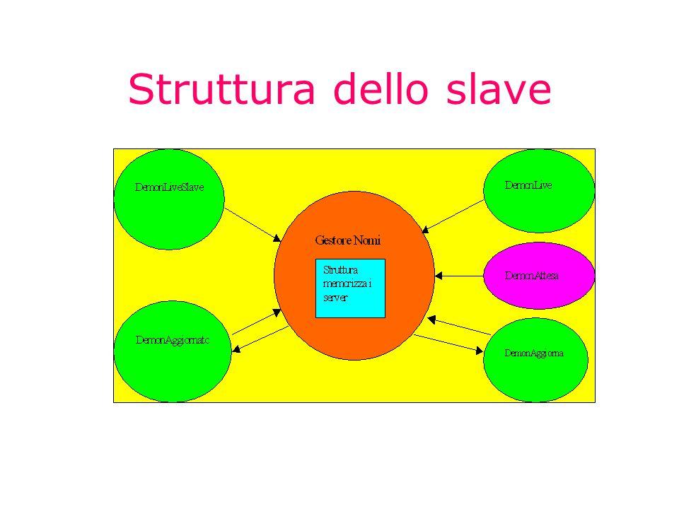 Struttura dello slave