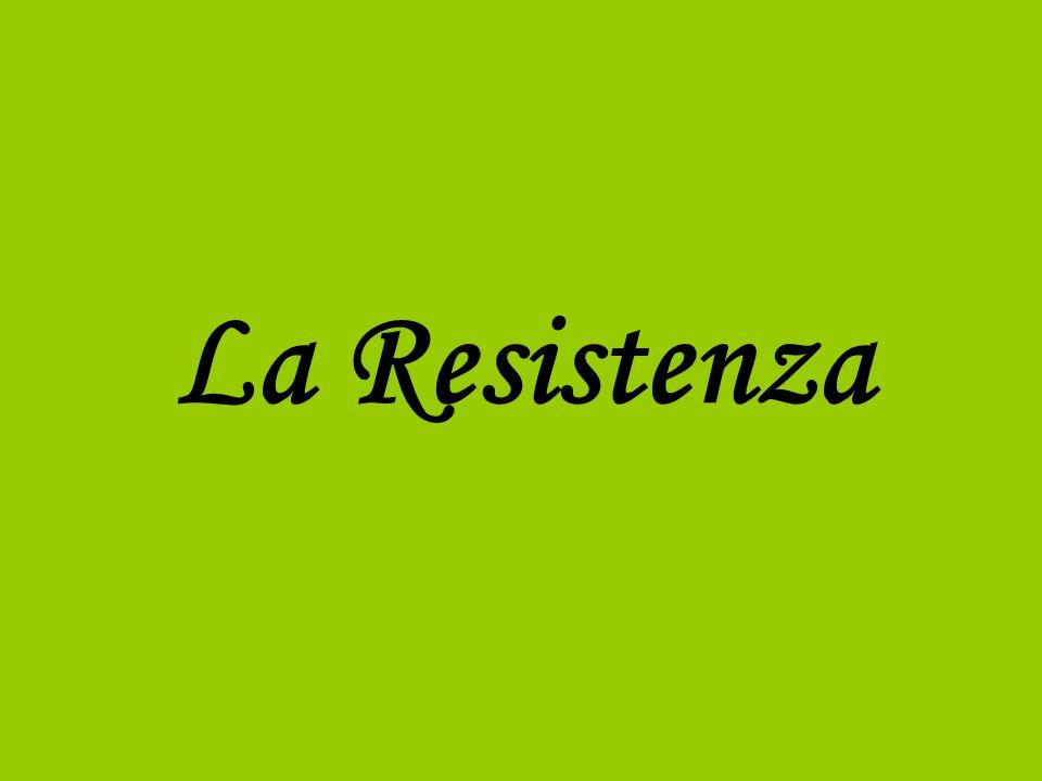 La Resistenza