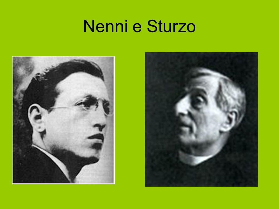 Nenni e Sturzo Sturzo