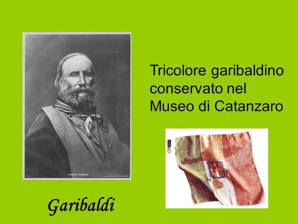 Garibaldi Tricolore garibaldino conservato nel Museo di Catanzaro