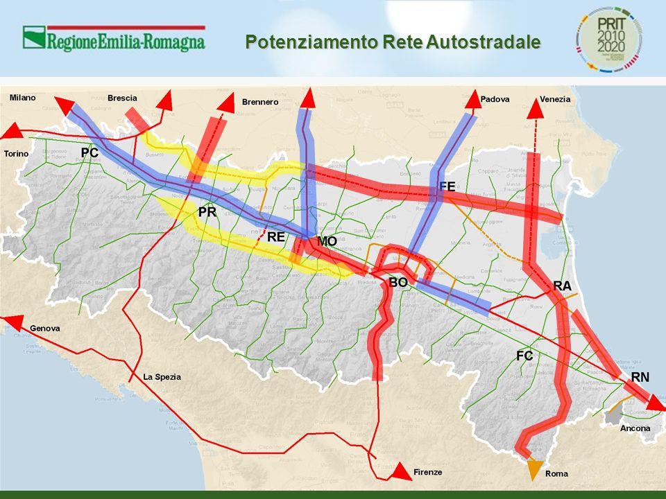 Potenziamento Rete Autostradale