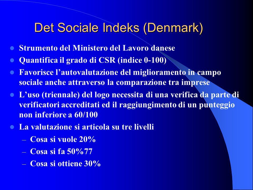 SA 8000 L impegno etico e sociale di un impresa oltre ad essere testimoniato dal proprio Codice etico e/o Bilancio sociale, può anche essere certificato.
