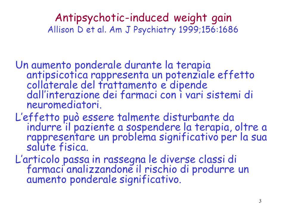 3 Antipsychotic-induced weight gain Allison D et al.