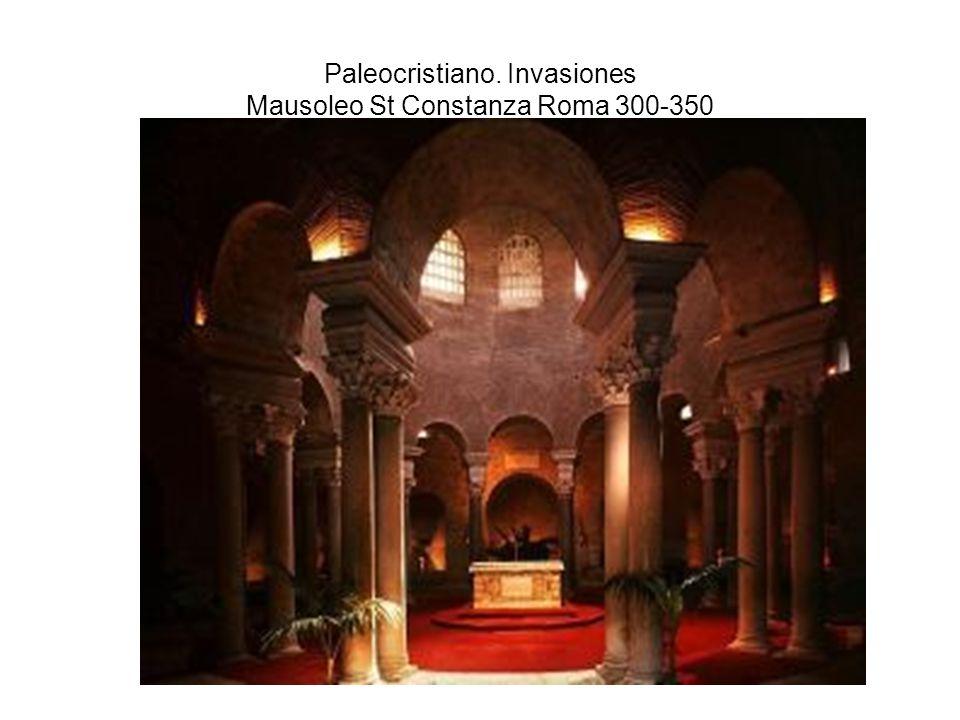 Paleocristiano. Invasiones Mausoleo St Constanza Roma 300-350