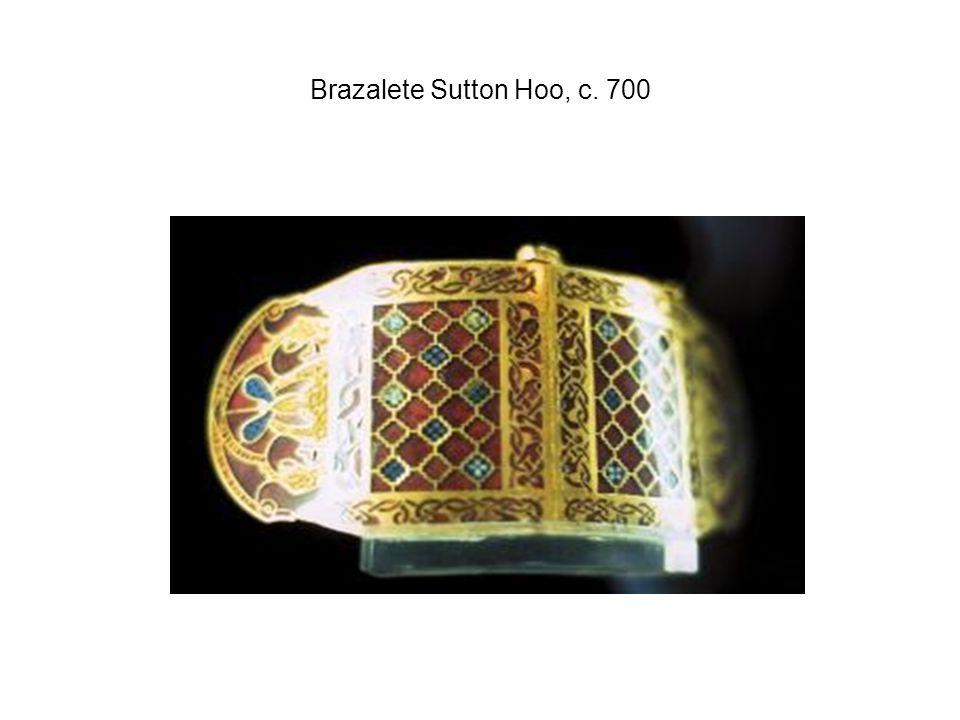 Brazalete Sutton Hoo, c. 700