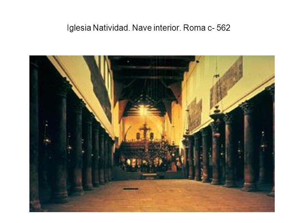 Iglesia Natividad. Nave interior. Roma c- 562