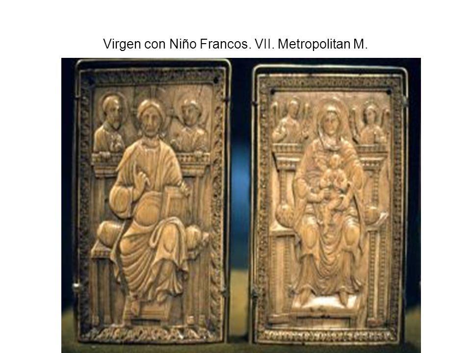 Virgen con Niño Francos. VII. Metropolitan M.
