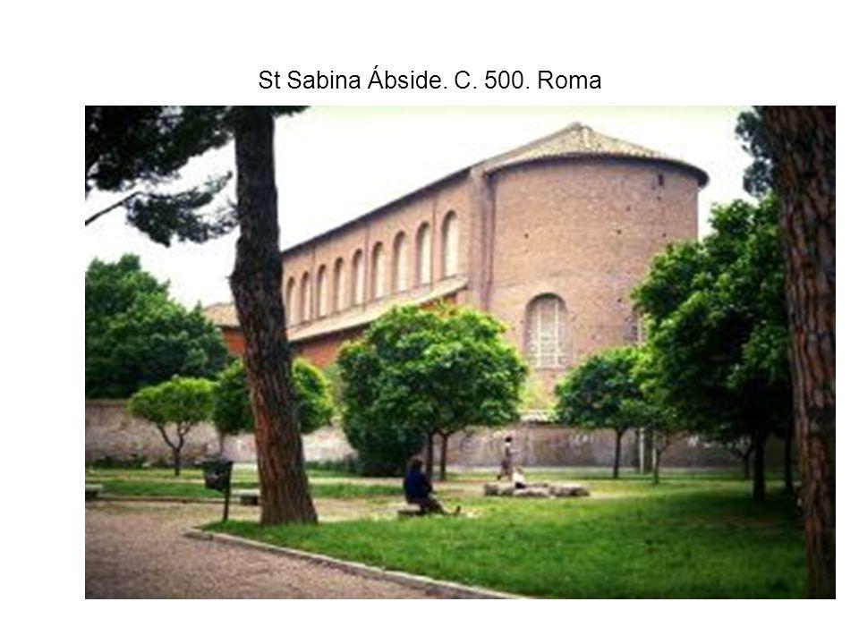 St Sabina Ábside. C. 500. Roma