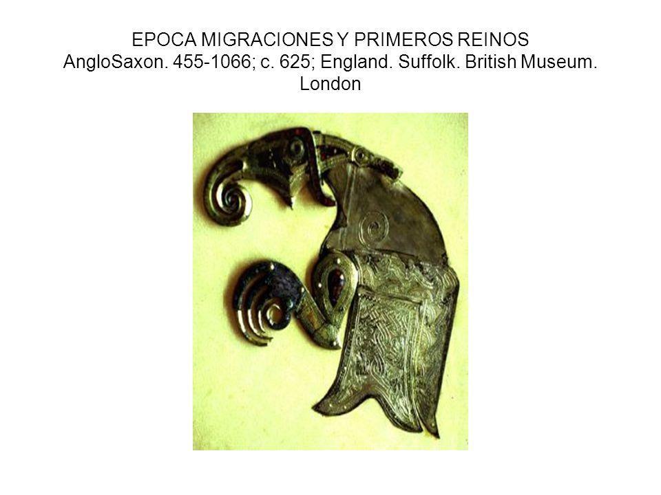 EPOCA MIGRACIONES Y PRIMEROS REINOS AngloSaxon. 455-1066; c.