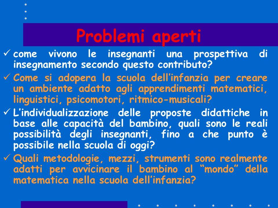  Durante la scuola dell'infanzia bisogna accompagnare i bambini alla scoperta dei numeri in maniera: giocosa/divertente, tecnico/scientifico Risponde