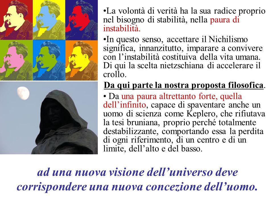 IL PARADOSSO: proprio quella visione che aveva suscitato odio e disprezzo per Bruno finì per affermarsi anche grazie agli argomenti teologici già delineati dal Nolano.