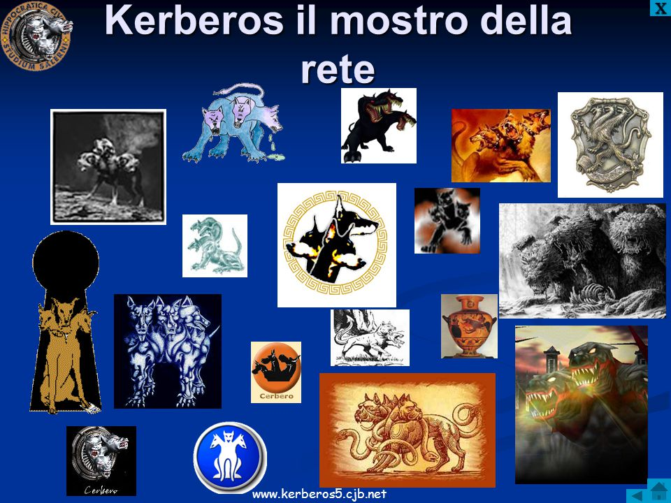 Kerberos il mostro della rete XXXX www.kerberos5.cjb.net