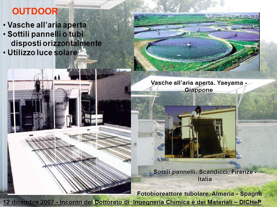 4 OUTDOOR Vasche all'aria aperta Sottili pannelli o tubi disposti orizzontalmente Utilizzo luce solare Vasche all'aria aperta. Yaeyama - Giappone Sott