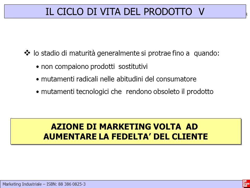 Marketing Industriale – ISBN: 88 386 0825-3 19  Superiorità del prodotto/servizio rispetto alla concorrenza o esistenza di caratteristiche distintive  Competenze di Marketing strategico ed operativo.