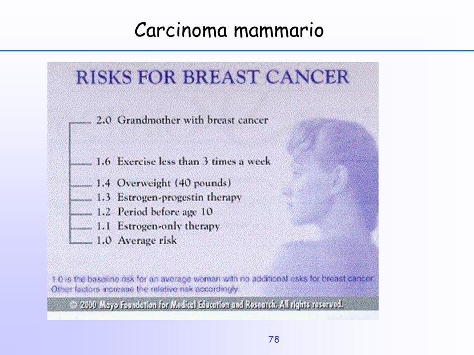 78 Carcinoma mammario