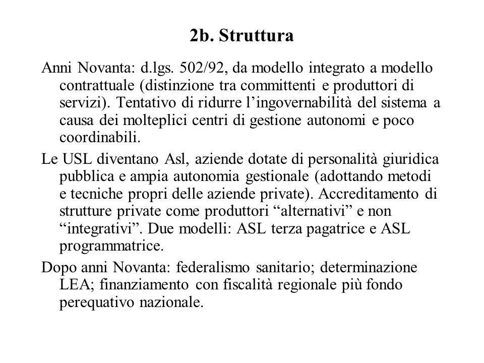 2b. Struttura Anni Novanta: d.lgs.