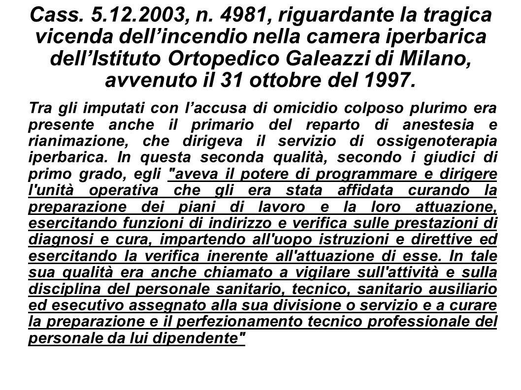 Cass.5.12.2003, n.