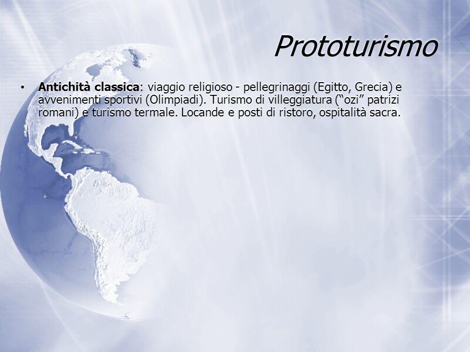 Il turismo mondiale Turismo: 1° industria del Mondo: fatturato 11% del PIL globale Più di 5 miliardi di spostamenti all anno di cui 850 milioni internazionali (1 miliardo nel 2010) 230 milioni di persone occupate, circa il 10% dell'intera forza lavoro mondiale L'80% dell'industria turistica mondiale si concentra nei Paesi industrializzati: Europa occidentale e Nord America (Africa: 3,5-4% arrivi internazionali) Turismo: 1° industria del Mondo: fatturato 11% del PIL globale Più di 5 miliardi di spostamenti all anno di cui 850 milioni internazionali (1 miliardo nel 2010) 230 milioni di persone occupate, circa il 10% dell'intera forza lavoro mondiale L'80% dell'industria turistica mondiale si concentra nei Paesi industrializzati: Europa occidentale e Nord America (Africa: 3,5-4% arrivi internazionali)