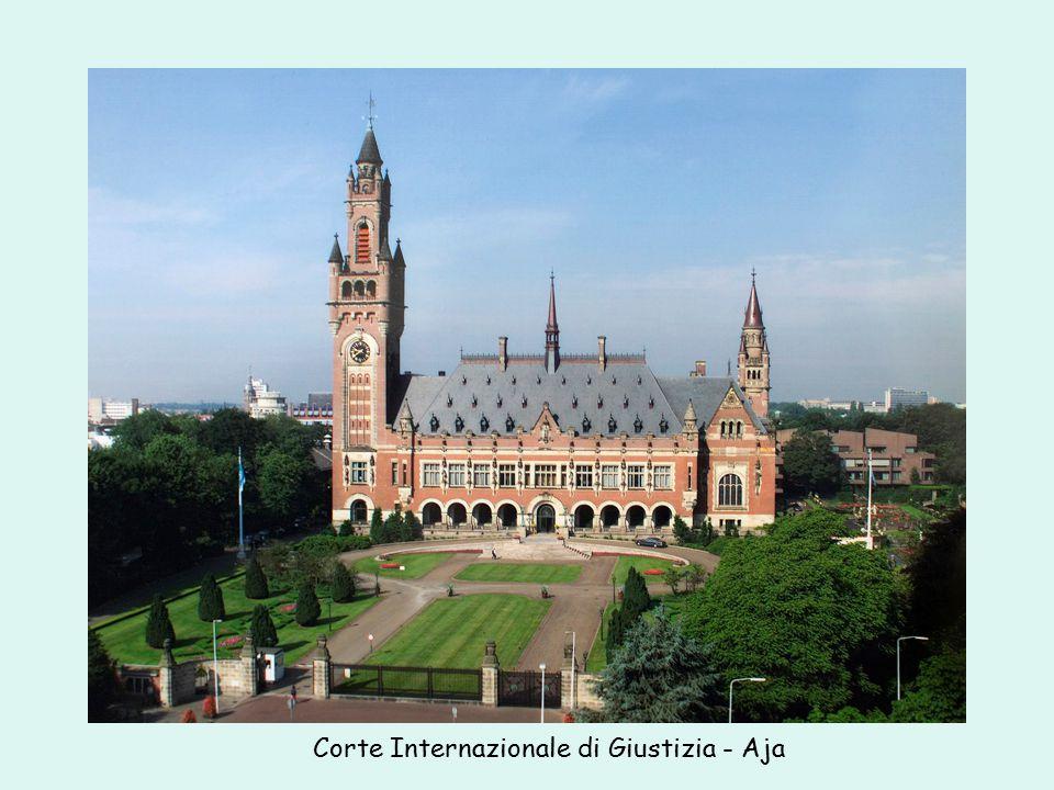 Corte Internazionale di Giustizia - Aja