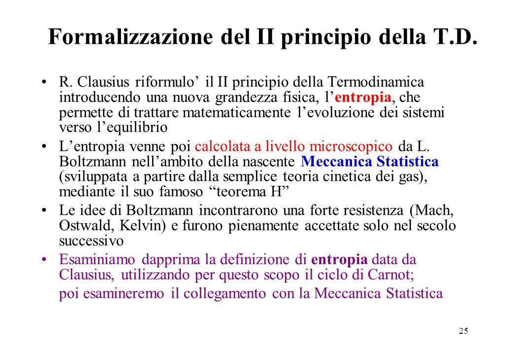 25 Formalizzazione del II principio della T.D.R.