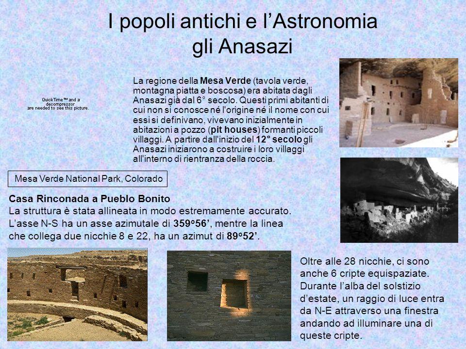I popoli antichi e l'Astronomia Maya e Aztechi Le civiltà Centroamericane, ed in particolar modo Maya (e dopo gli Aztechi), hanno rivolto il loro sguardo al cielo sia per motivi pratici, sia per motivi religiosi e rituali.