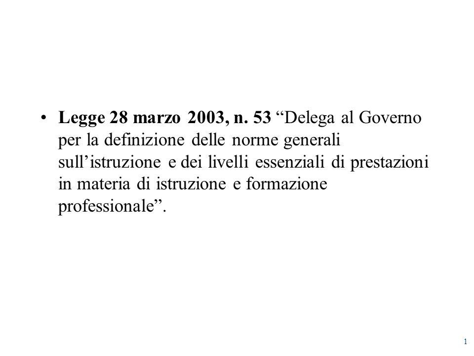 1 Legge 28 marzo 2003, n.