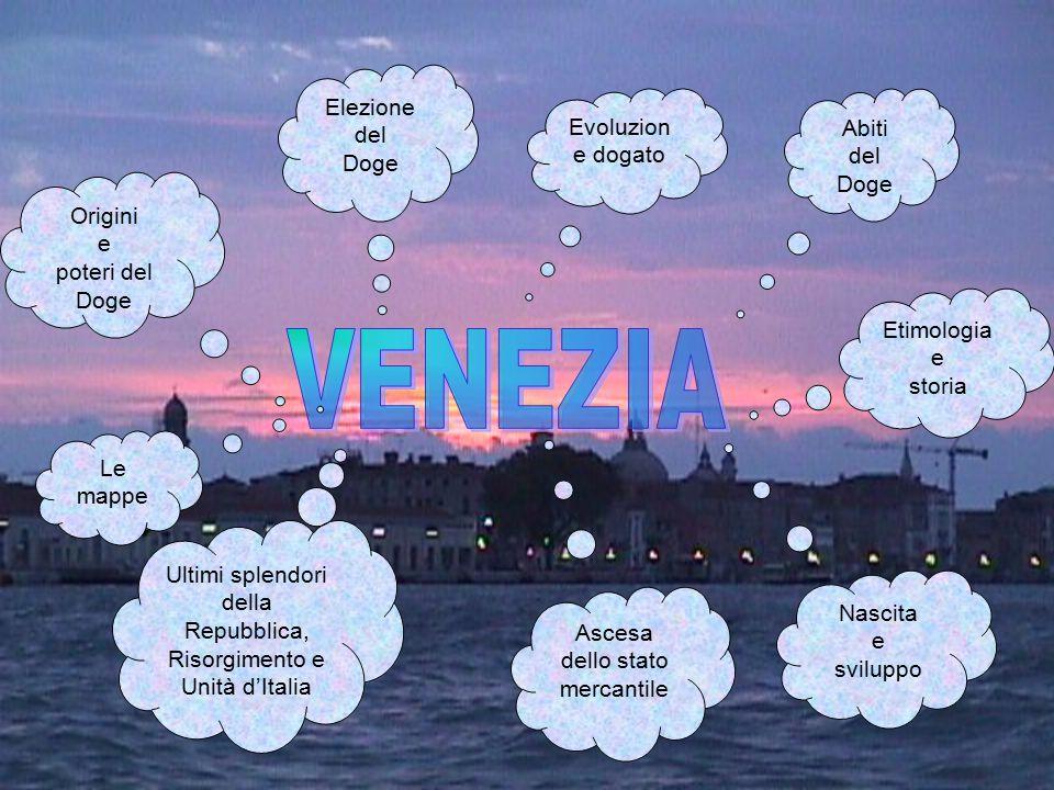 Etimologia e storia Nascita e sviluppo Ascesa dello stato mercantile Ultimi splendori della Repubblica, Risorgimento e Unità d'Italia Origini e poteri
