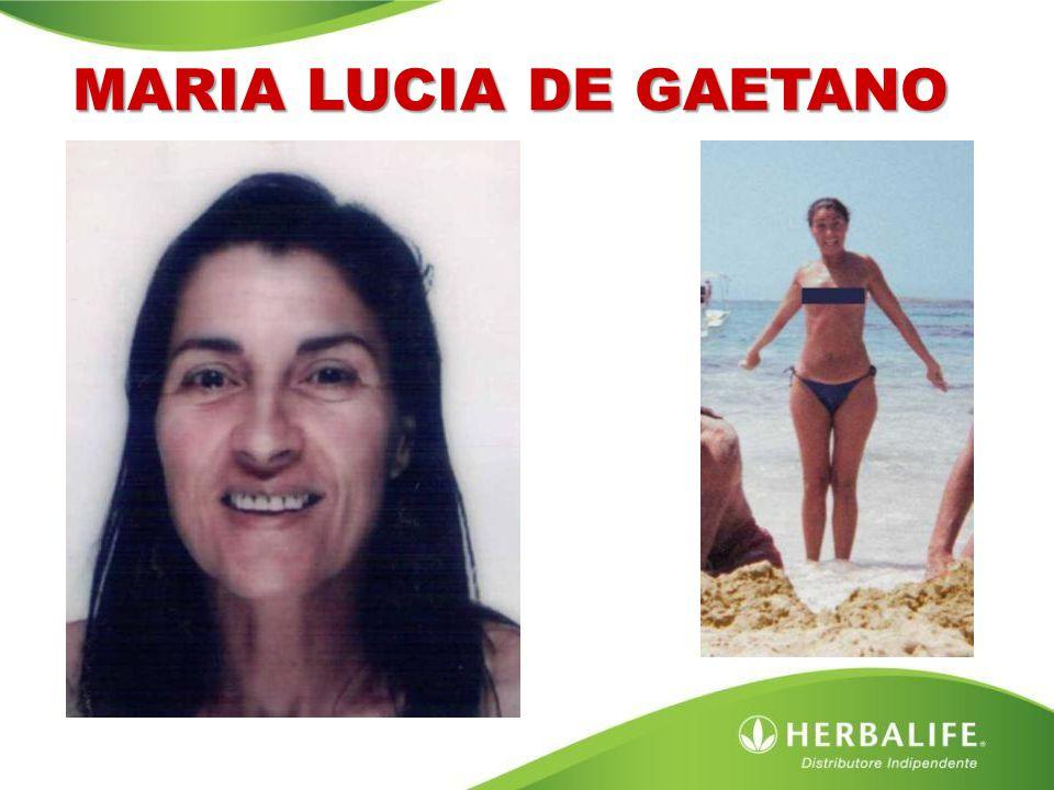 MARIA LUCIA DE GAETANO