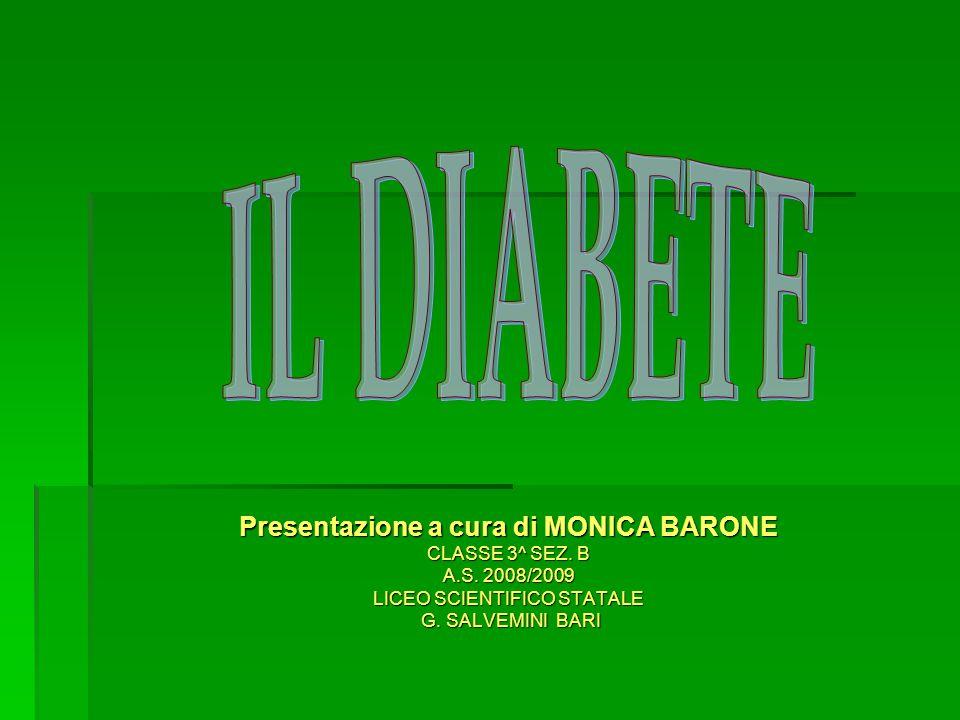 Presentazione a cura di MONICA BARONE CLASSE 3^ SEZ.