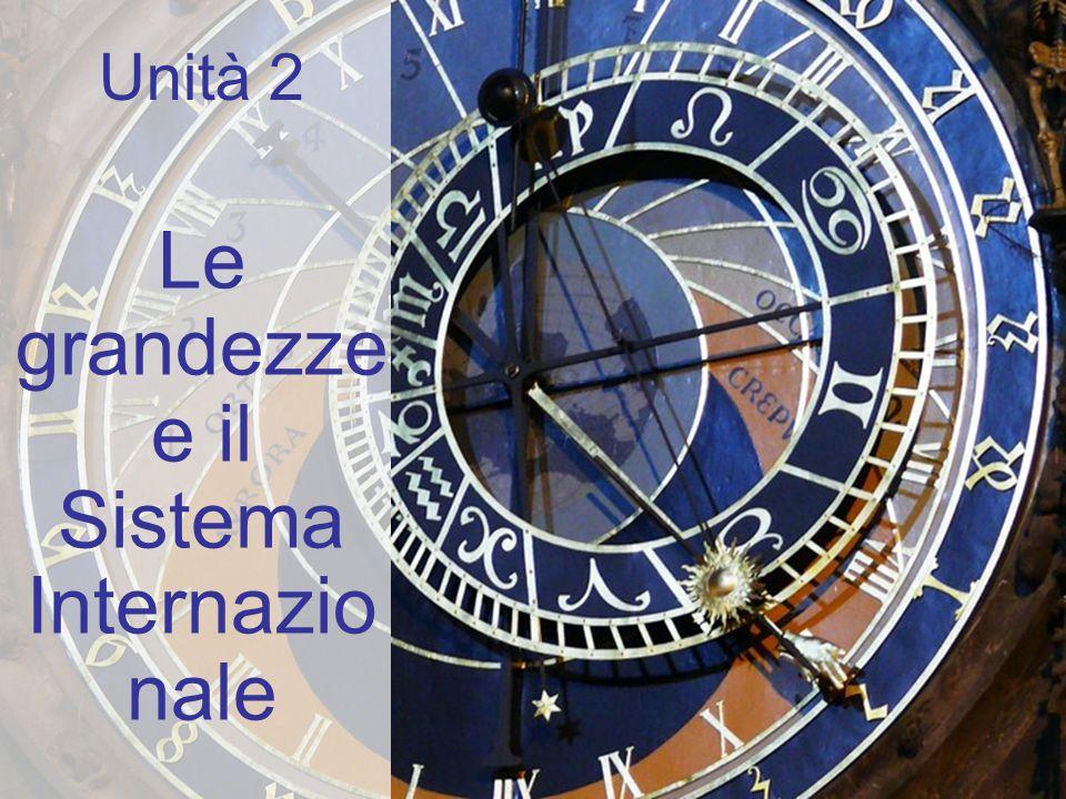 22 Strumenti per misurare la densità Picnometro DensimetriBilancia idrostatica U02 Le grandezze Le grandezze derivate