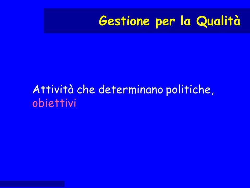 definire politica, impegni e obiettivi per la Q proporre il nominativo del RS al DG proporre il nominativo del RAQ al DG Responsabilità e autorità: RUO