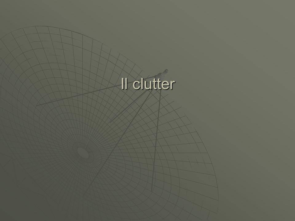 Spettro del clutter