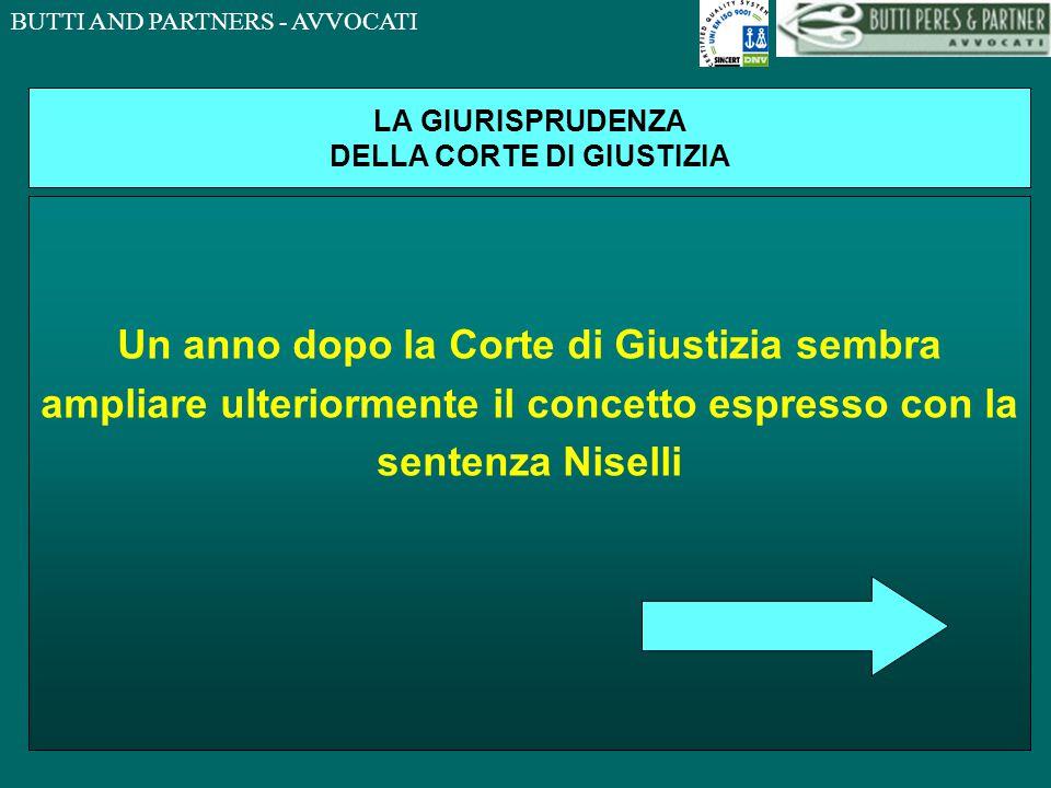 BUTTI AND PARTNERS - AVVOCATI LA GIURISPRUDENZA DELLA CORTE DI GIUSTIZIA CORTE DI GIUSTIZIA DELLE COMUNITA' EUROPEE, SENTENZA 8 SETTEMBRE 2005 (CAUSA C-416/02) UNA SOSTANZA NON COSTITUISCE RIFIUTO AI SENSI DELLA DIRETTIVA 75/442/CEE (E SUCCESSIVE MODIFICAZION) BENSI' UN AUTENTICO 'SOTTOPRODOTTO' DI CUI IL DETENTORE NON INTENDE DISFARSI QUALORA IL SUO RIUTILIZZO SIA CERTO ED AVVENGA NEL CORSO DEL PROCESSO DI PRODUZIONE OPPURE PER IL DIVERSI FABBISOGNO DI OPERATORI ECONOMICI DIVERSI DA QUELLO CHE L'HA PRODOTTA.