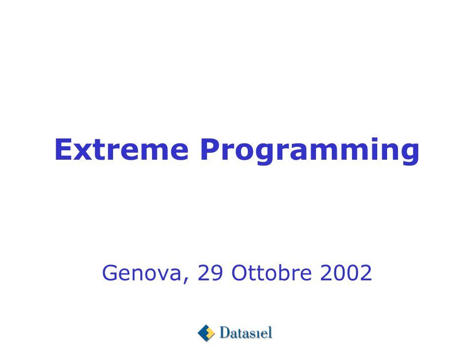 Extreme Programming Genova, 29 Ottobre 2002