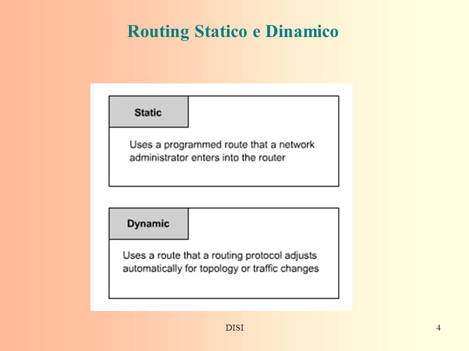 4 Routing Statico e Dinamico