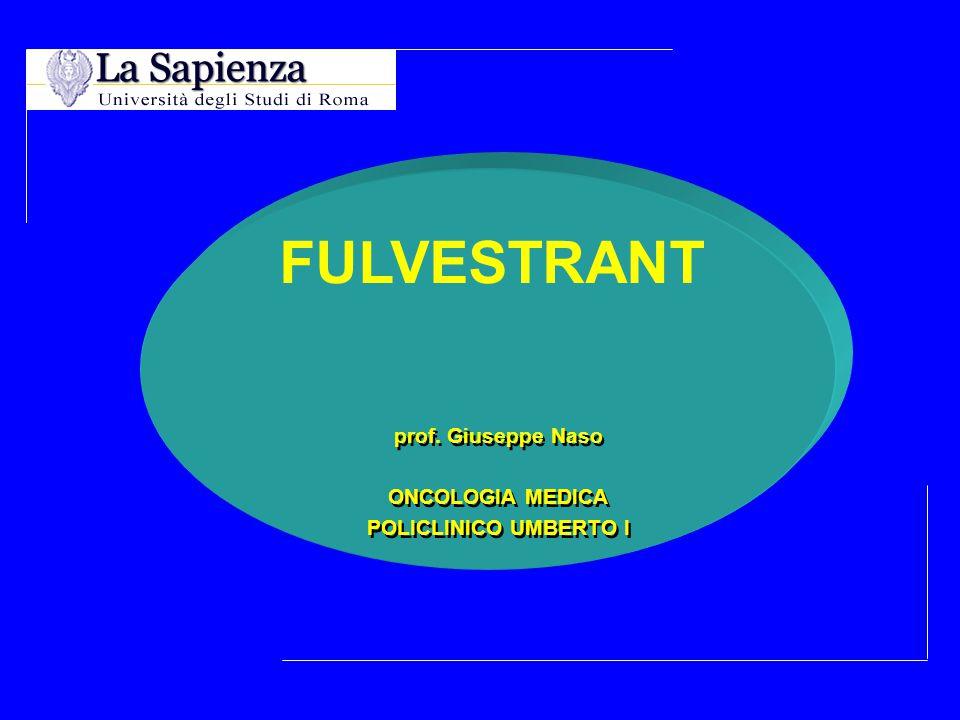 ONCO CB 41% 1 CB 50% 2 FulvestrantFulvestrant AI ns (n=46) (n=46) AI ns (n=22) CB = clinical benefit 2 Howell A, Robertson J.
