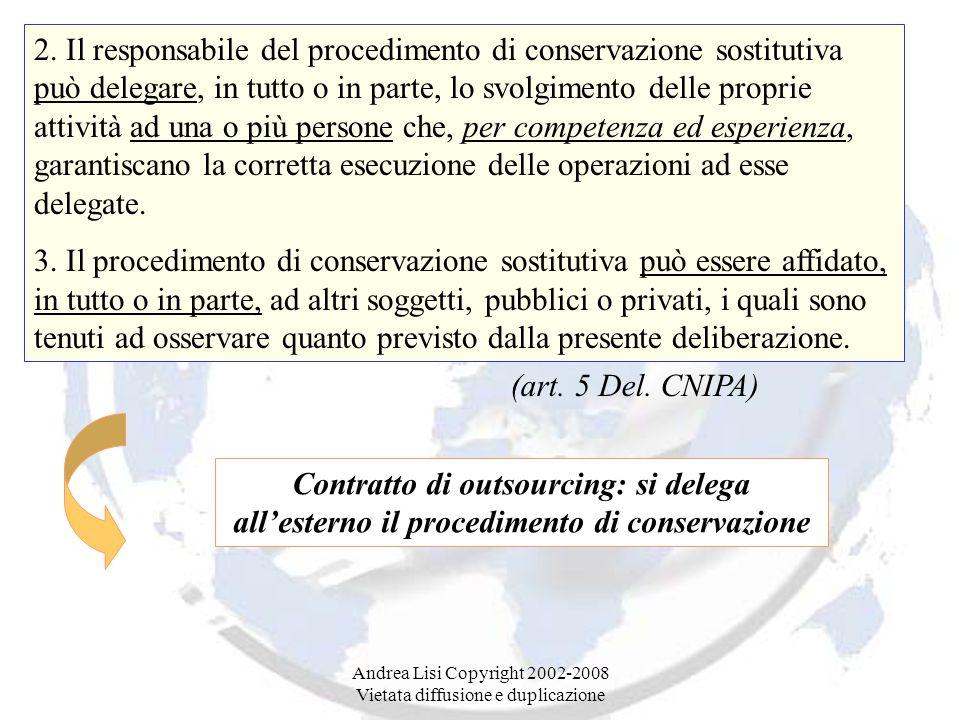 Andrea Lisi Copyright 2002-2008 Vietata diffusione e duplicazione 2.
