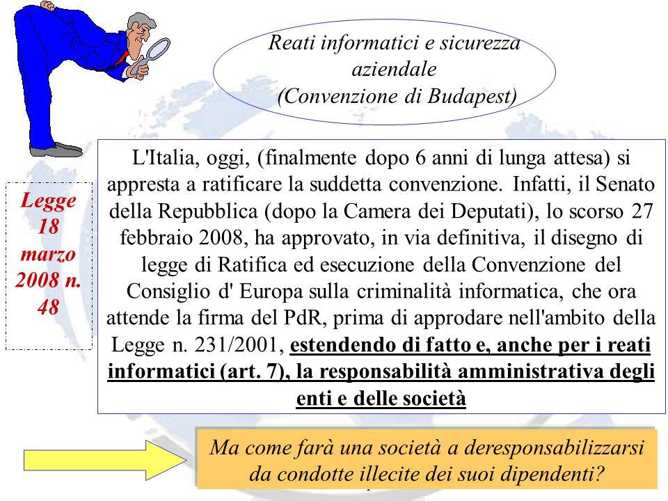 Andrea Lisi Copyright 2002-2008 Vietata diffusione e duplicazione L Italia, oggi, (finalmente dopo 6 anni di lunga attesa) si appresta a ratificare la suddetta convenzione.