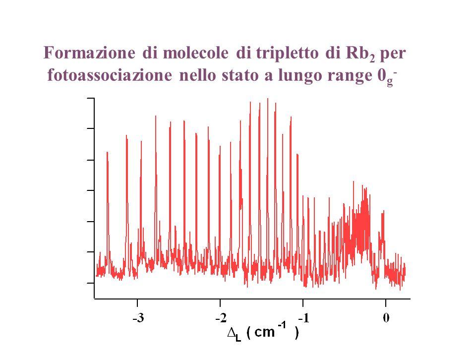 Formazione di molecole di tripletto di Rb 2 per fotoassociazione nello stato a lungo range 0 g -