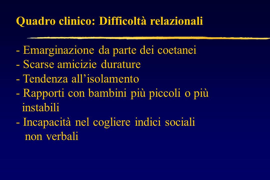 ADHD-ansia: diagnosi differenziale Sintomi cognitivi: Disturbo di concentrazione, tensione soggettiva Sintomi comportamentali: Irritabilità, iperattività.