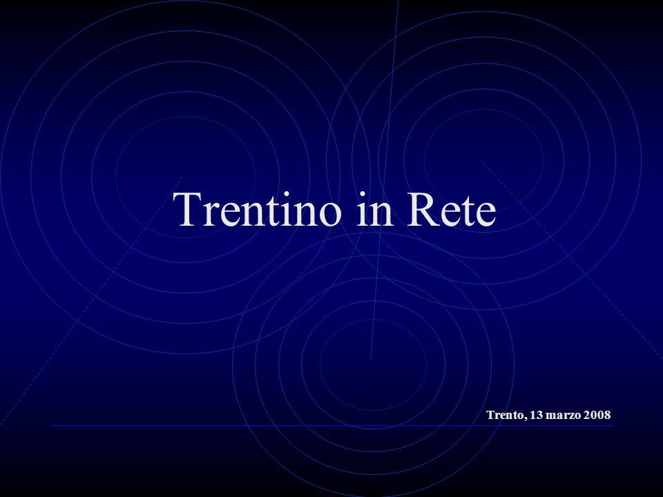Trentino in Rete Trento, 13 marzo 2008