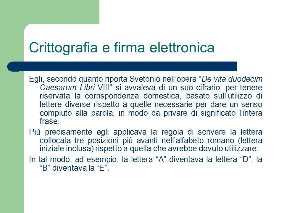 La direttiva europea sulle firme elettroniche Le Autorità di certificazione che rilasciano certificati qualificati saranno responsabili dell'esattezza delle informazioni contenute nel certificato a partire dalla data del rilascio; dovranno garantire che, al momento del rilascio del certificato, i dati per la creazione della firma relativi al firmatario identificato dal certificato stesso corrispondano ai dati per la verifica della firma riportati nel certificato e che i dati per la creazione della firma e quelli per la sua verifica possano essere usati in modo complementare, nei casi in cui il certificatore generi entrambi.