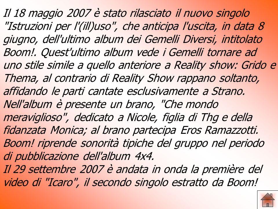 Infine il 14 ottobre 2004 fu rilasciato l album Reality Show: album che segna un evoluzione in senso meno rappato e più canoro da parte dei tre vocalist del gruppo.