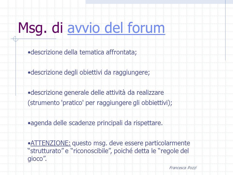 Francesca Pozzi Msg.