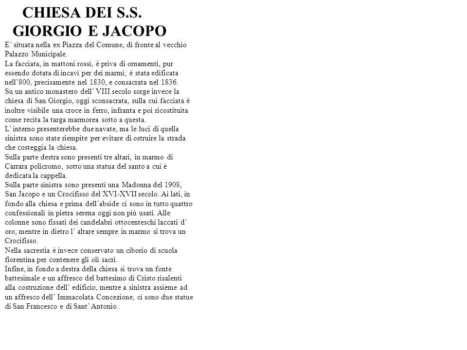 Sig.Taccini INTERVISTA AL SIGNOR TACCINI, PRESIDENTE DELLA MISERICORDIA DI MONTECALVOLI.